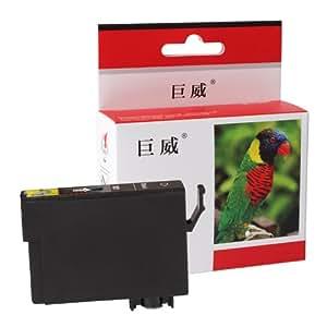 巨威 T0761墨盒 适用于 爱普生 Epson C58 ME2 ME20 ME200 CX2800打印机/一体机墨盒 兼容 爱普生 T0761 T0761黑色墨盒(黑色)