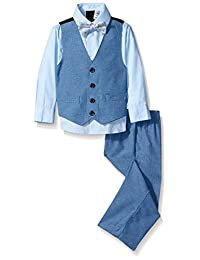Van Heusen Little Boys' Thin Stripe Vest Set