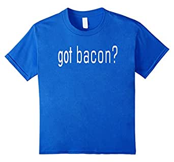 Womens Got Bacon? Bacon Lovers Periodic Bacon T-Shirt 皇室蓝 Kids 8