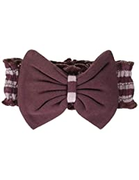 L'ovedbaby Stripe-A-Pose Collection 横条纹 弓带 头带衫 sap-501 薰衣草/蛋花·0~12个月