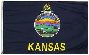 堪萨斯州旗帜 3x5' 141860