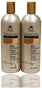 Avlon KeraCare Natural Textures Leave In Conditioner - 16 oz (2 pack)