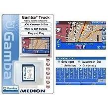 Gamba 卡车 导航软件适用于 Medion E4445, E4435, P4445