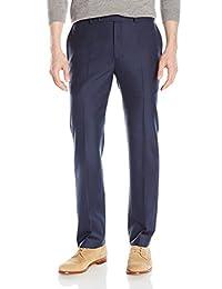 Calvin Klein 男式 X 性能修身无褶西裤