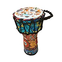 BND 鼓迷你金杯鼓鼓金杯鼓鼓鼓鼓是绳子调谐的带盖高脚鼓,原始来自非洲 6x14 蓝色