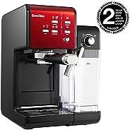 Breville 铂富 PrimaLatte II VFC109X-01 浓缩咖啡机 19 bar压力萃取/自带牛奶起泡器/一键清洁