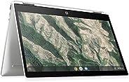 HP 惠普 Chromebook ( 12 英寸 / HD+ 触摸屏) 可转换笔记本电脑 银色14b-ca0000ng  14 Zoll Full HD