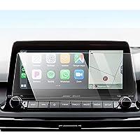 YEE PIN 2020 起亚Seltos 触摸屏汽车导航屏幕保护膜汽车导航玻璃屏幕保护膜2020 2021 起亚Seltos 9H防刮高清晰度 10.25-inch