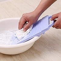 Yoki Home 日本进口搓衣板 迷你可固定防滑塑料搓衣板 加厚小号宿舍神器洗衣板(颜色随机 单件装)