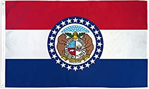 Quality Standard Flags Missouri Polyester Flag 3 by 5'