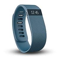 Fitbit Charge 無線 Activity 智能手環,藍色,大號