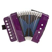 D'Luca Child Button Accordion 紫色