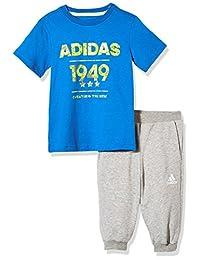 adidas Kids 阿迪达斯 男童 小童针织套服 短袖 LB SS TEE 34 SE