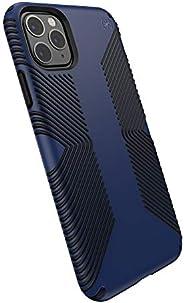 Speck 产品兼容苹果 iPhone 11 Pro Max,Presidio Grip 手机壳130026-8531 Coastal Blue/Black