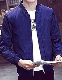 MPSMOVE 思慕夫 2018冬季款男士韩版简洁外套男修身男装风衣夹克男KW240【12】