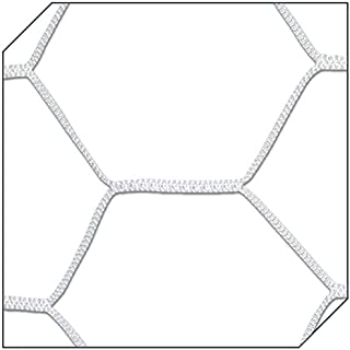 Champro 编织六角形网(白色,4 毫米)