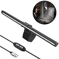 电脑显示器灯条,USB 笔记本电脑屏幕 E 阅读 LED 工作灯*,可调节亮度和色温,适用于办公室/家庭