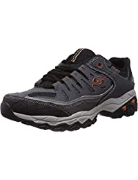Skechers 斯凯奇 Sport 男士 Afterburn Memory Foam Lace-Up 运动鞋