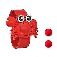 Yandex卡通驱蚊手环婴儿童孕妇宝宝植物户外蚊虫防蚊手环(送2粒驱蚊粒) (红色螃蟹)