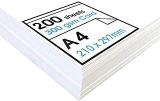 Artway Studio – 照片纸盒 – 非常适合演示文稿、放置和手工艺 – 纯白色 – 300 克/平方米 A4 - 200 Blatt Artway Studio Cartridge