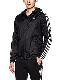 adidas 阿迪达斯 男式 运动型格 梭织夹克 ESS Wind Jacket