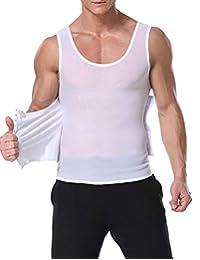 Bslingerie 男式塑身背心体形矫正上衣压缩衬衫
