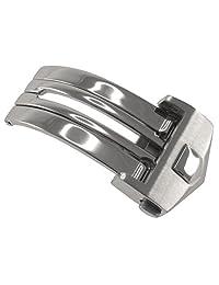 18 毫米不锈钢表扣,适合 TAG Heuer Carrera 和 Monaco 型号