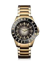 Vivienne Westwood 薇薇安维斯特伍德 英国品牌 奢华黑金圆盘石英女表 石英女士手表 VV099BKGD