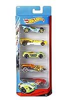 Hot Wheels Five-Car Assortment Pack, Multi Color