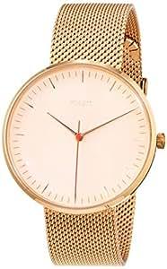 Fossil 女士指针石英手表不锈钢表链 ES4425
