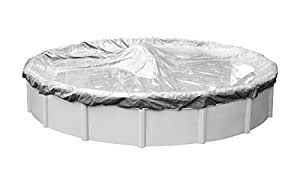 Pool Mate Silverado Winter Cover for 12-Foot Round Above-Ground Swimming Pools 银色 12-Foot Round Pool