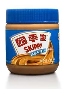 SKIPPY 四季宝颗粒花生酱340g