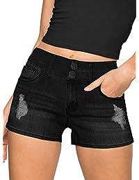 混合 & Company 女式提臀 V2超舒适弹力细纹牛仔紧身牛仔裤