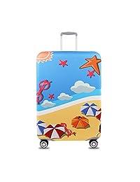 Youth Union 旅行行李箱包行李箱保护套,适合 18-32 英寸行李