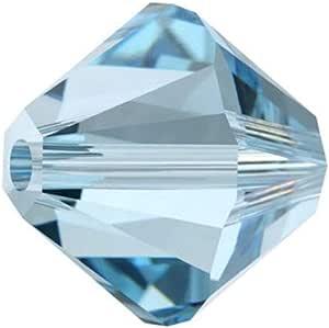 50adabele 奥地利双锥体刻面*珠*替代适用于施华洛世奇 PRECIOSA 结晶5301/0305328