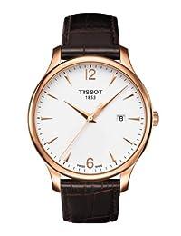 TISSOT 天梭 瑞士品牌  俊雅系列石英手表 男士碗表  T063.610.36.037.00