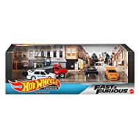 Hot Wheels 高级 汽车模型 收藏套装 1、Fast&Furious