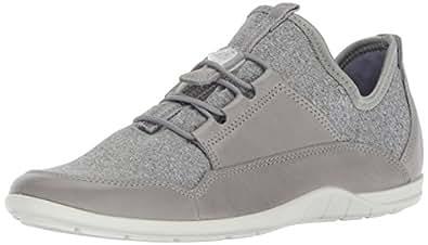 Ecco 女士 Bluma 低帮弹力时尚运动鞋 Wild Dove/Concrete-white 35 欧盟/4-4.5 M 美国