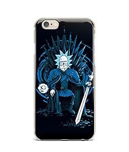 Mort and Rick GOT Stark Iron Throne 风格 iPhone 6 6s iPhone 7 8 iPhone X 硅胶软橡胶手机壳 iPhone 7/8