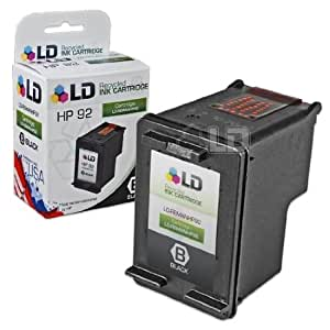 LD Remanufactured Replacement Ink Cartridge for Hewlett Packard C9362WN (HP 92) Black