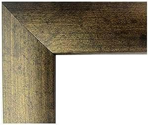 US Art Frames 做旧青铜 2.54 cm Nugget MDF 木质复合物,图片海报框 棕色 24X36 FBA_0E-4ZHW-OVAR
