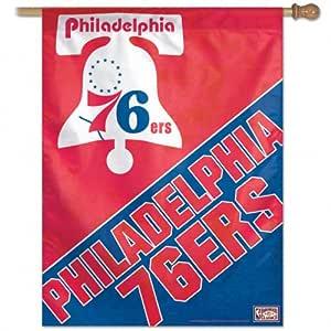 NBA Philadelphia 76Ers 27-by-37-Inch Vertical Flag-Hardwood Classics