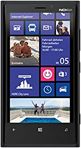 Nokia Lumia 920 32GB 无锁 4G LTE Windows 智能手机带 PureView 技术 8MP 相机 - 黑色