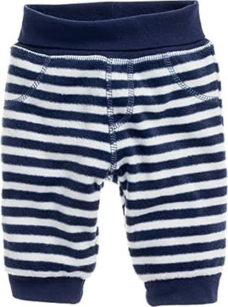 Schnizler 男童长裤抓绒运动服下装海洋条纹 Blue (Navy/White 171) 0-3 Months (Manufacturer Size:62)