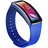Samsung Galaxy Gear Fit Replacement Plastic Band - Retail Packaging - Blue