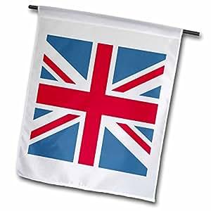 PS Creations–英国国旗–旗帜 OF THE WORLD–英国–旗帜 12 x 18 inch Garden Flag