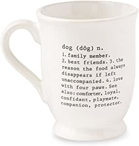 Dog Sayings 压花咖啡杯 - 453.59 克 Dog Definition 16盎司