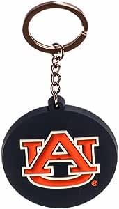学院风脉冲奥本老虎队 NCAA PVC 钥匙扣