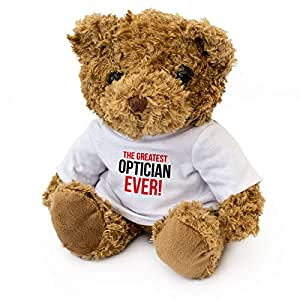Greatest Optician Ever - 泰迪熊 - 可爱柔软可爱 - 赠礼 生日礼物 圣诞节