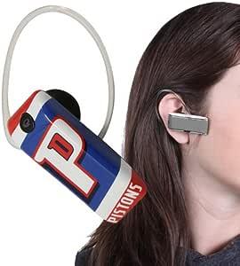 Earloomz SL-454 底特律活塞 - 蓝牙耳机 - 零售包装 - 蓝色/银色